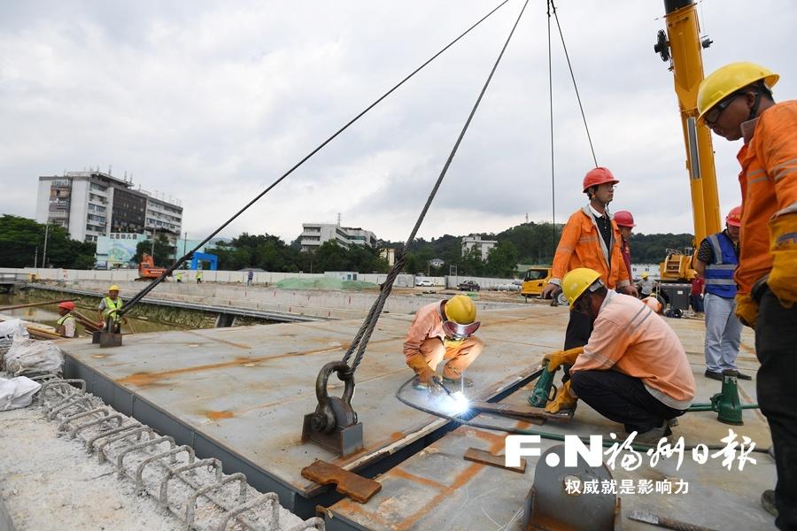 """福州2条新建道路""""牵手""""为火车站周边""""缓堵"""""""