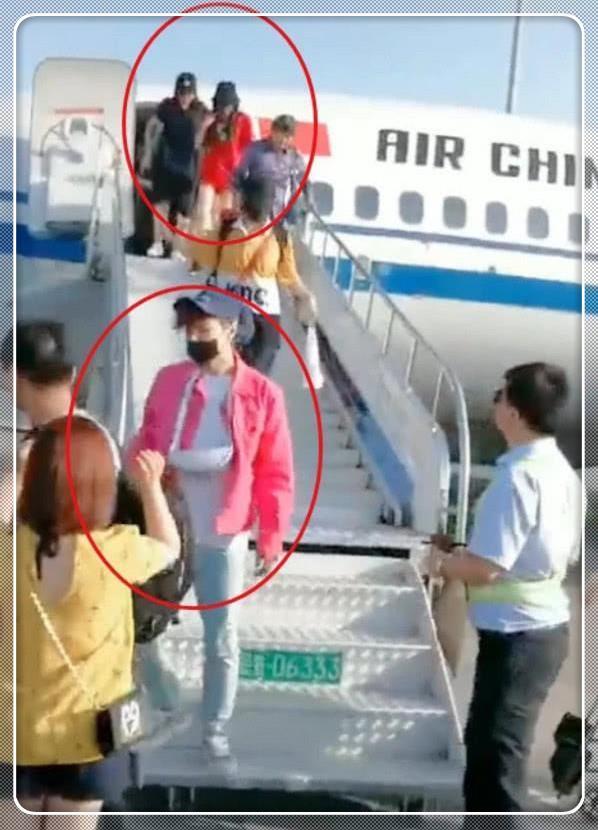 张艺兴迪丽热巴乘同坐飞机,全程无交流假装不认识,难道在避嫌?
