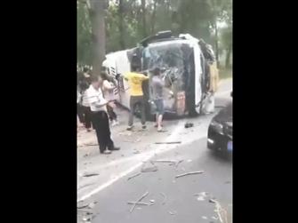 满载考生客车相撞怎么回事?满载考生客车相撞伤亡情况最新消息