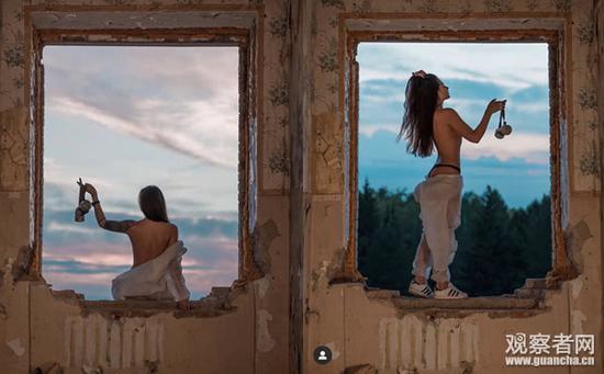 俄模特韦罗妮卡罗切娃个人资料写真照片 核电站不雅照流出