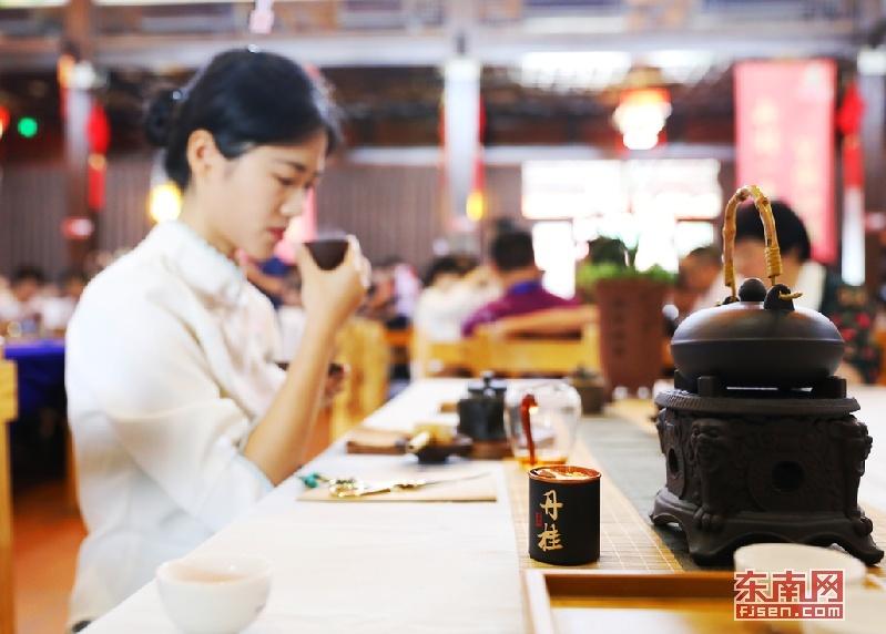 第六届海峡(漳州)茶会落幕 南靖土楼茶丹桂受青睐
