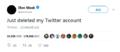 马斯克删推特账号怎么回事 马斯克为什么要删推特账号