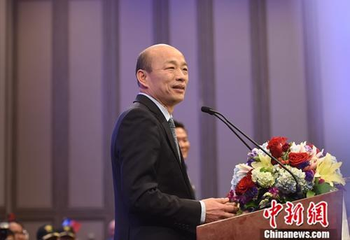 韓國瑜:臺當局不給錢 再有登革熱算蘇貞昌的
