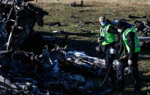 MH17坠机现小心�c场图(图源:俄塔社)