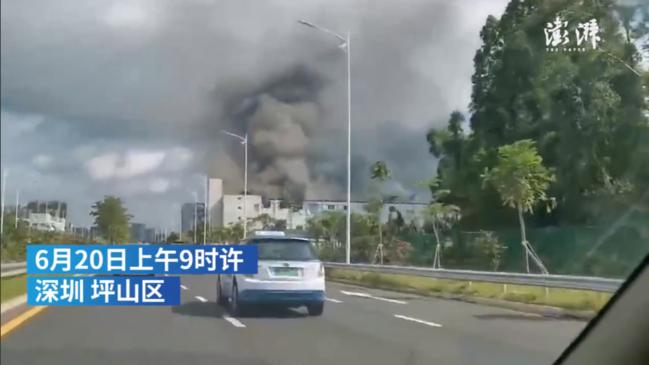 比亚迪厂房起火最新消息扑灭了吗?比亚迪厂房起火原因及现场图曝光