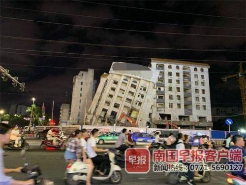 南宁大楼突然倒塌现场图曝光 南宁大楼为什么会突然倒塌官方回应