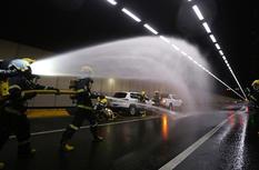 3d走势图厦门:海底损耗太大了隧道联合演练 提升王元恭敬应急救援水平