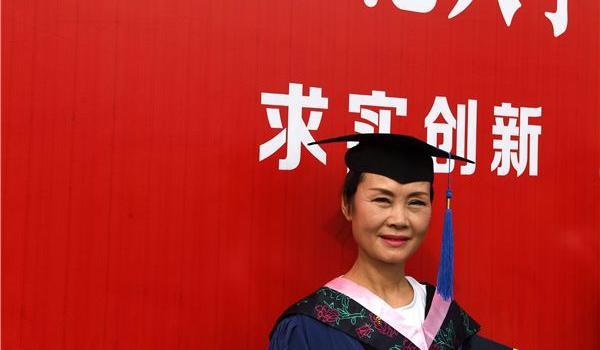 母女读研妈妈毕业怎么回事?周亚松个人资料55岁的她为什么考研