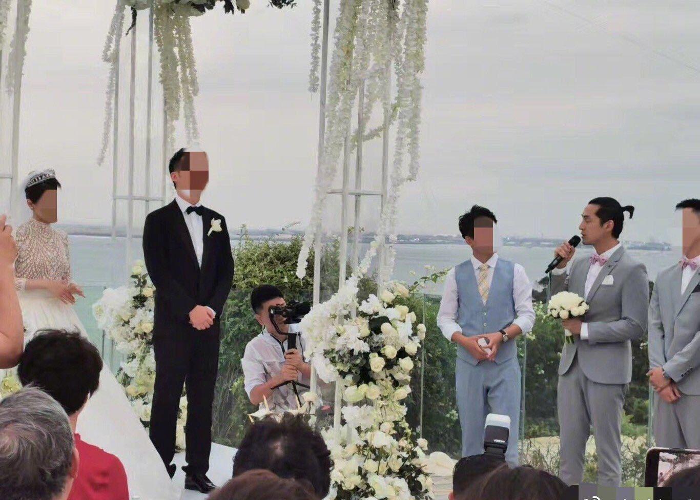 胡歌抢到手捧花怎么回事?胡歌当伴郎参加谁的婚礼?