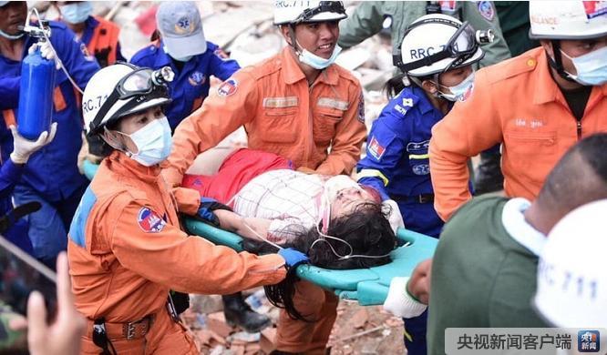 柬埔寨建筑物倒塌什么情况 柬埔寨7层建筑物坍塌致18死24伤