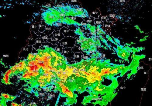 今日 龙岩、厦门、漳州、三明、泉州部分地区有大到暴雨 请注意防范!