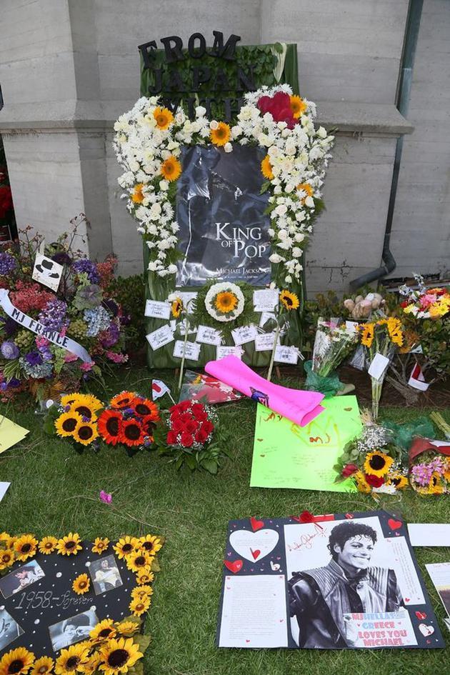 迈克尔·杰克逊逝世10周年纪念活动现场