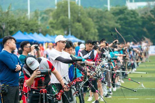 海峡两岸全民健身射箭邀请赛吸引国内草根射箭高手齐聚榕城开弓引箭