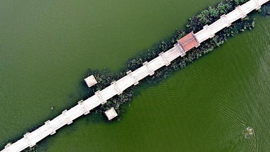 """帶你""""飛閱""""中國現存最長古代石橋:泉州安平橋"""