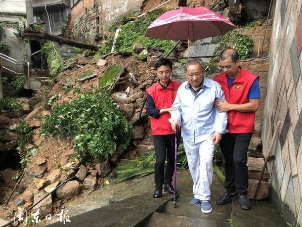 寧德:大雨老人遇困難 居家養老來幫忙