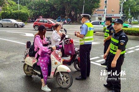 7月1日起 福州被扣电动车在闽侯领取
