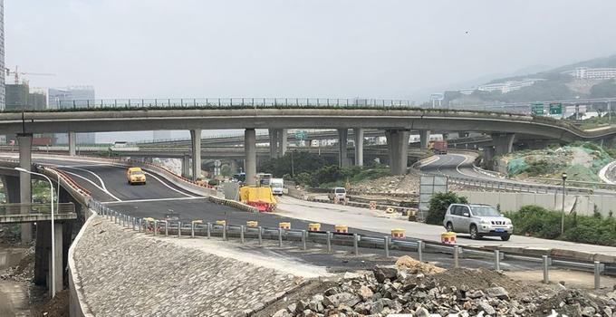 福州馬尾打通又一快速通道 三江口大橋新匝道建成通車