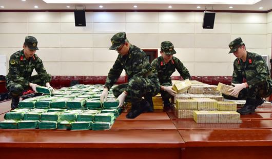 2018年至今 福建海警繳獲各類毒品3.36噸