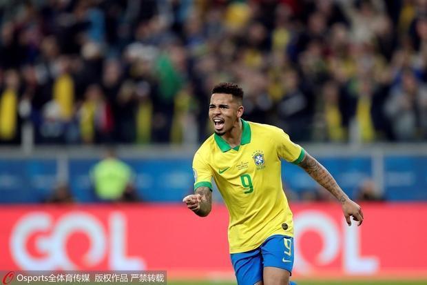美洲杯巴西淘汰巴拉圭 熱蘇斯揮拳盡情咆哮
