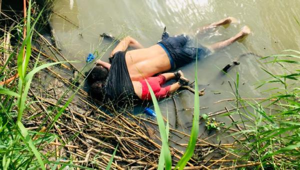 移民父女溺亡照片震撼全球 凸显美墨边境人道危机