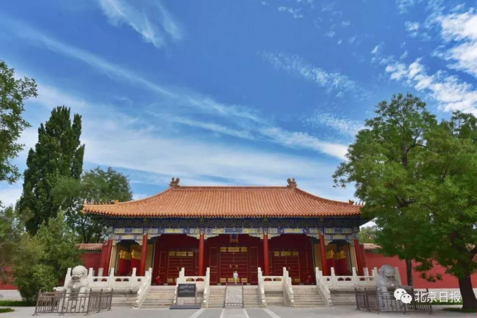 一場小雨,北京藍又刷屏!今兒的京城太美了