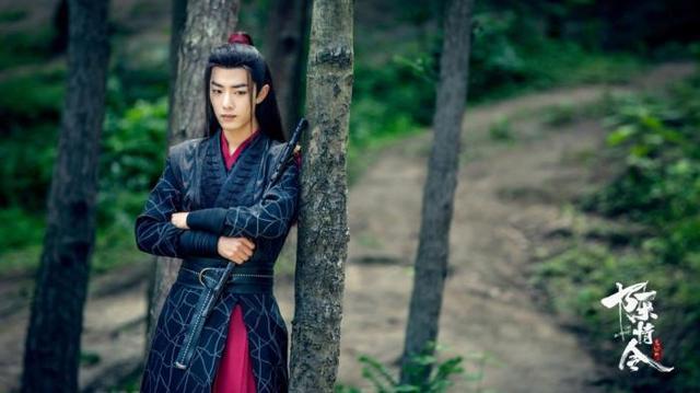 陳情令王一博古裝太丑肖戰演技做作 加戲的女主收到了不少謾罵