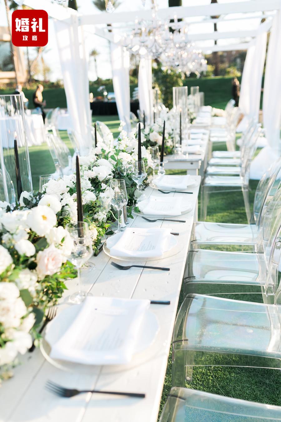 不知道婚禮需要什么色調主題?就選這兩個顏色!