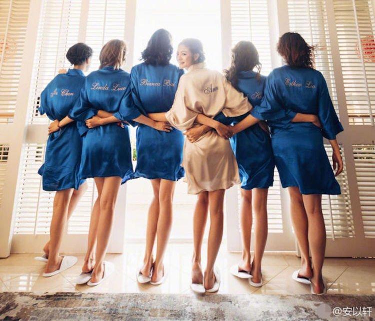 明星新娘7大抵贊貼心行為 印證這些伴娘團好幸福