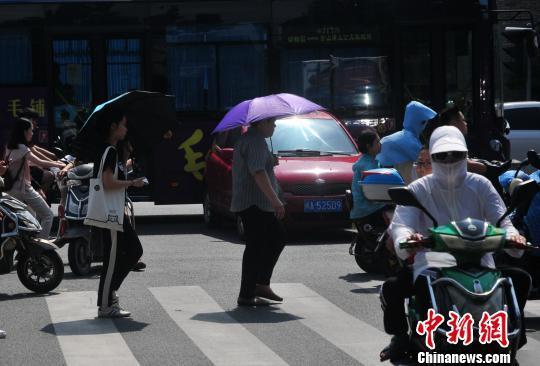 福州繼續發布高溫橙色預警信號 局部超過38℃