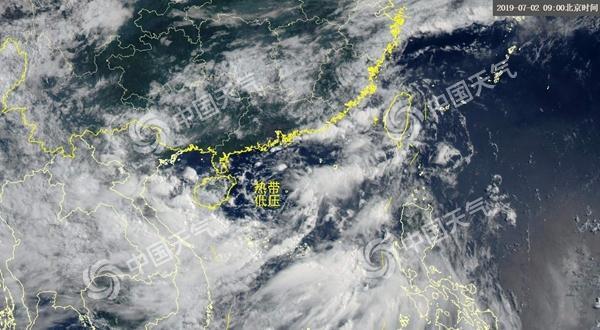 """南海""""准台风""""登陆倒计时 风雨直指海南广东等四省区"""