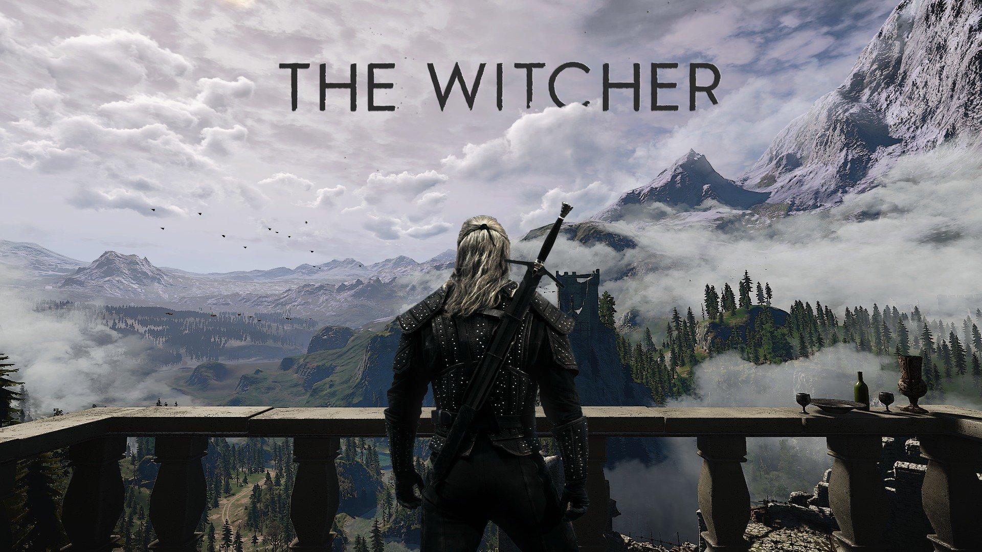 網友調侃《巫師》電視劇海報 下一季白狼屁股變形了