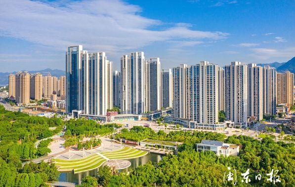 宁德:新城新景新画卷 滨海宜居新城正崛起