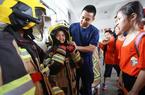 福建廈門:學消防知識 過平安暑期