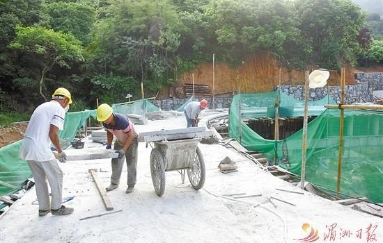 莆田鳳凰山景區登山游步道 預計10月份投用
