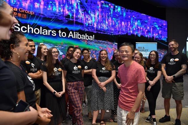 马云与29名澳洲学生聊人生:人生最宝贵的是它