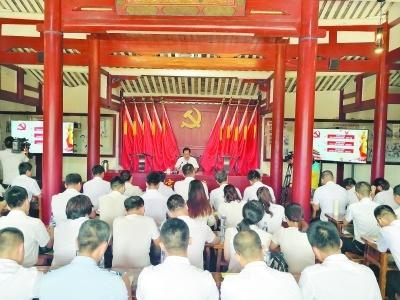 仙游:更喜上宫支部红旗艳 革命故事凝成红色基因