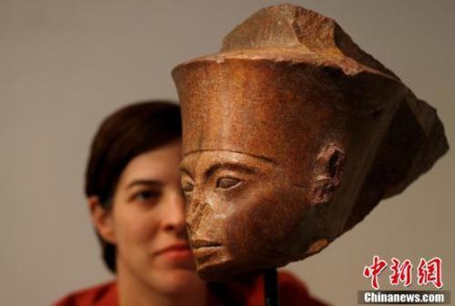 疑似古埃及文物在英國拍賣 成交價約4100萬元