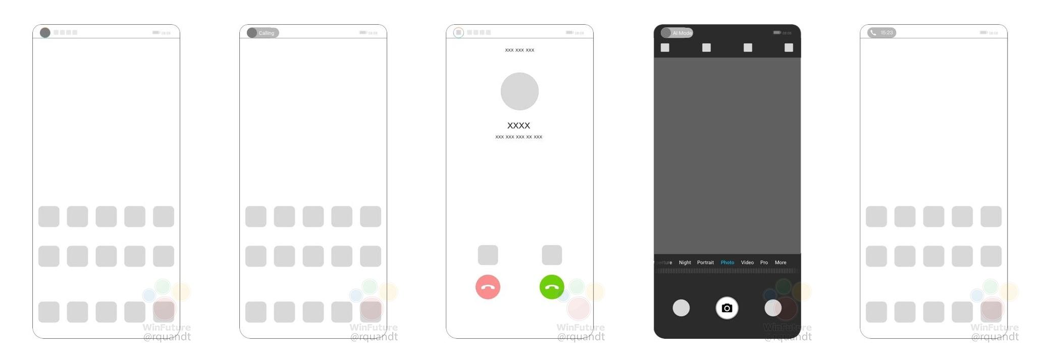華為屏下攝像頭專利曝光:美觀和功能性兼備