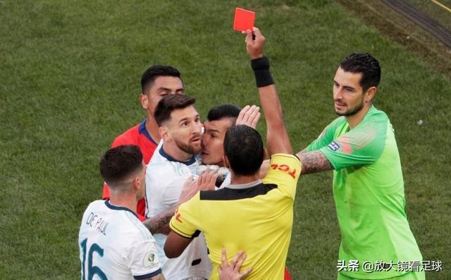 忍无可忍!梅西被红牌罚下太荒唐,赛后炮轰美洲杯是为巴西准备的