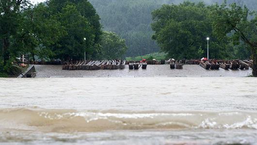福建:強降雨持續 多地受影響