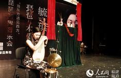 《白鷺女神》木偶戲在廈首演 毓琪用琵琶的音樂語言為非遺發聲
