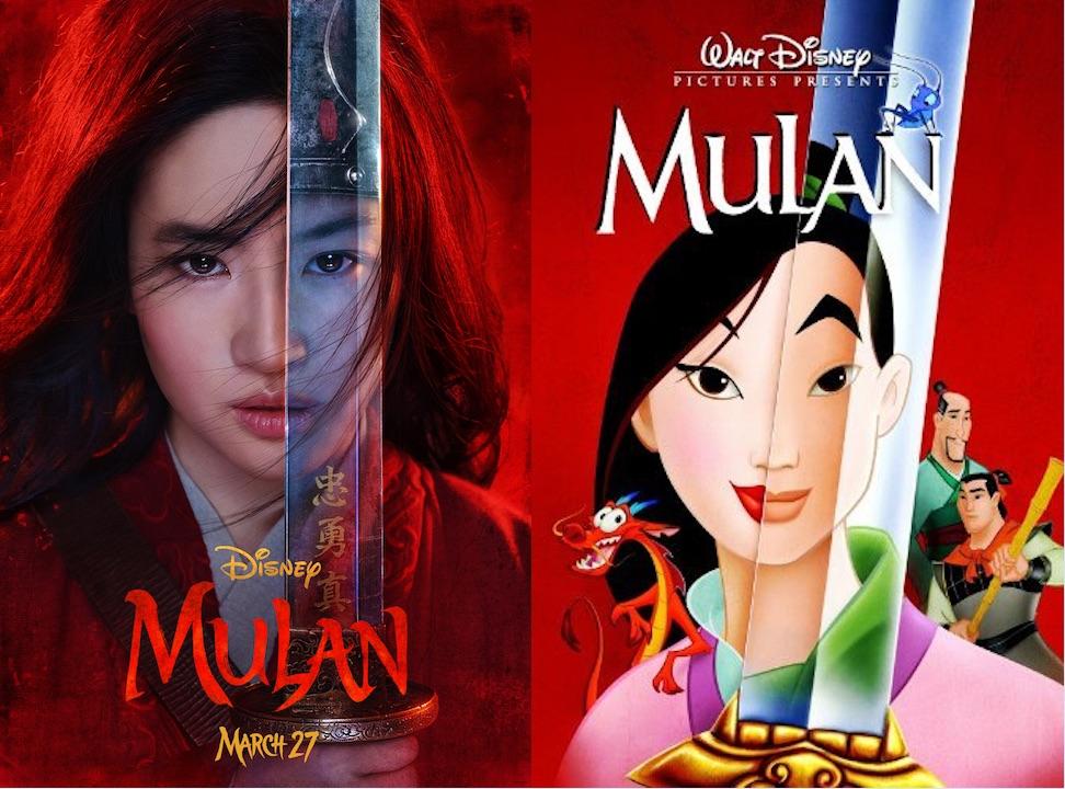 《花木蘭》中文版先導海報和首批官方劇照發布