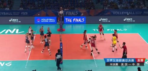 中国女排无缘决赛