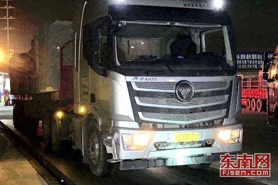 """限载49吨实载146吨 漳州龙文查处""""百吨王""""货车"""