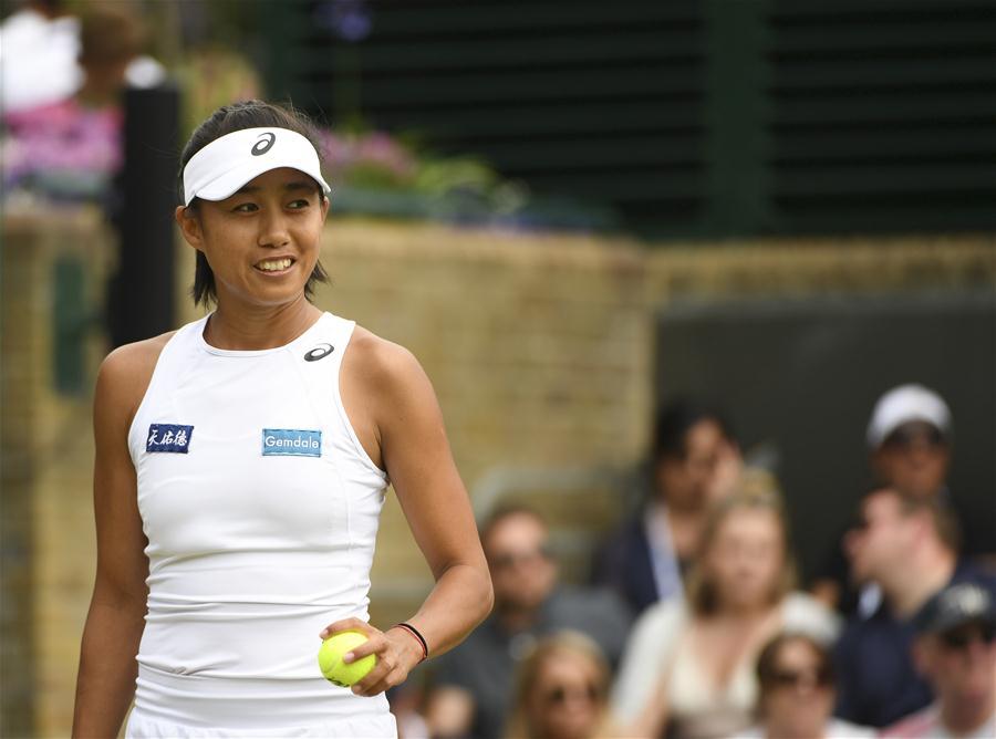 (体育)(2)网球——温网:张帅晋级女单八强