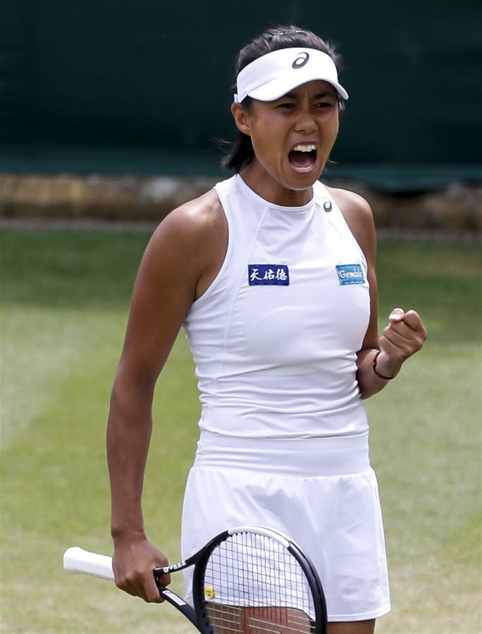 (体育)(4)网球——温网:张帅晋级女单八强