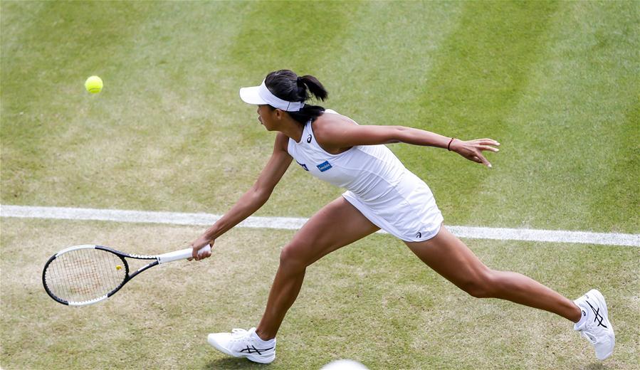 (体育)(10)网球——温网:张帅晋级女单八强