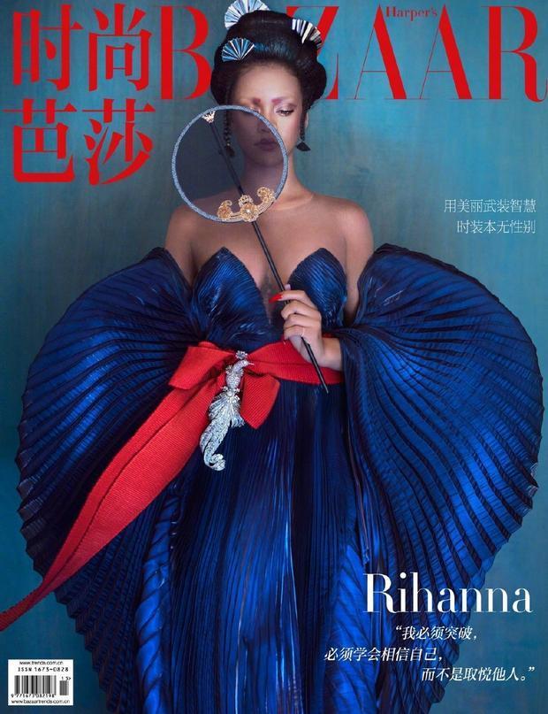 蕾哈娜唐朝造型新闻介绍?蕾哈娜唐朝造型照片无敌了