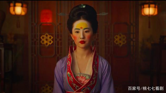 刘亦菲妆发引争议怎么回事?对镜贴花黄到底长啥样?