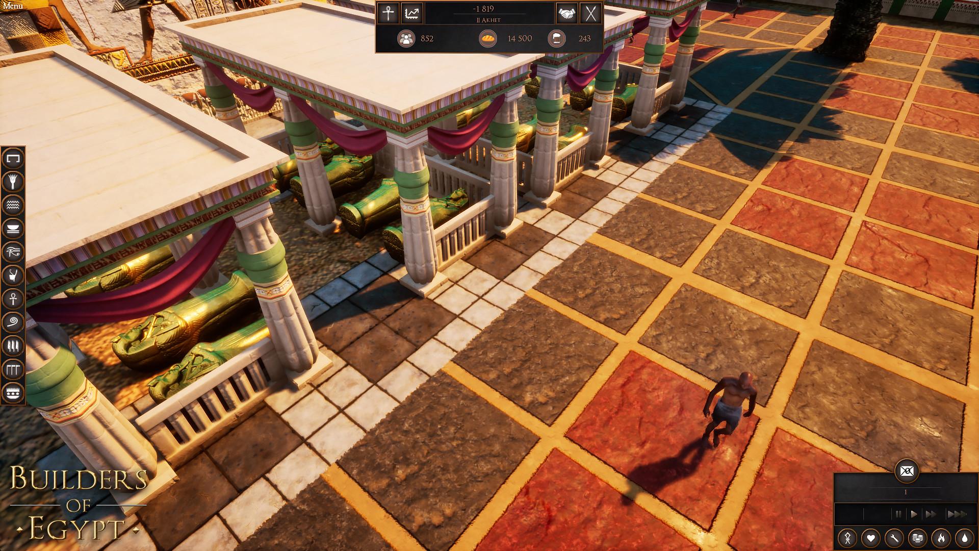 策略模拟新游《埃及制造者》公布新预告 发售日待定